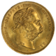 31 Latin Union 20 Lire Corona Gold