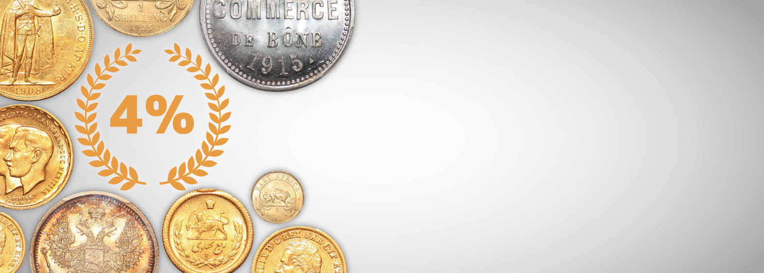 Buy & Sell every day with Numismatic Online Auctions Platform - Millenium State!
