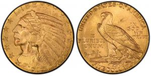 5 Dollars Gold 1912 United States