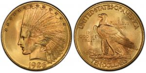 10 Dollars United States Gold 1926