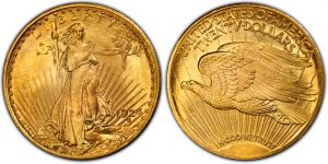 United States Gold 1924 20 Dollars