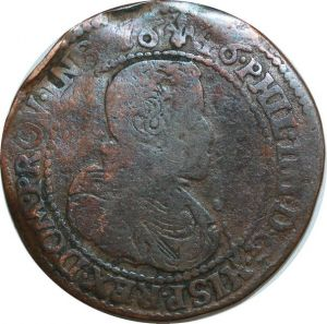 O7892 Rare Jeton Flandres Lille Phalempin Cysoing Wavrin Commines 1646