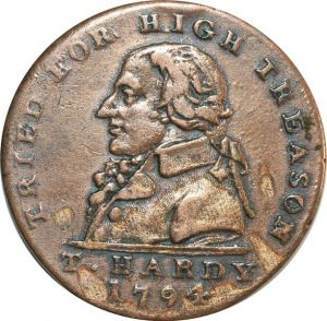 O7950 Great Britain Middlesex Halfpenny Brustbild Thomas Hardy 1794 ->M offer