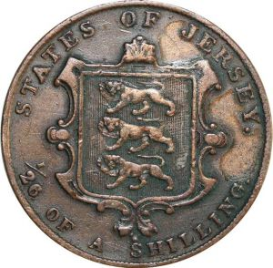 O7972 Jersey 1/26 Shilling 1844 ->Make offer