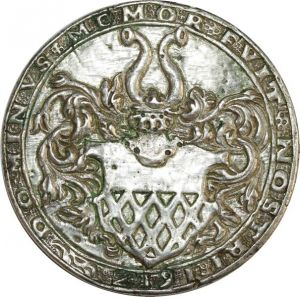O8247 Unknown Medaillen Taler Philipp Ludwig II 1580 1612 Silver ->M offer