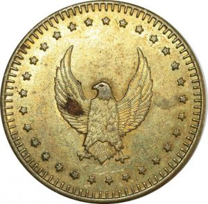 O8261 Token USA US Eagle Aigle AU ->Make offer
