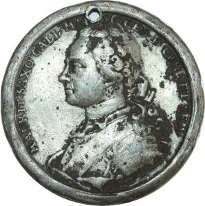 O8301 German Medal Allemagne Friedrich August II 1733 1763 Muller ->Make offer