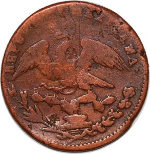S7513 Mexico Mexico City 1/4 real 1833 Mo ->Make offer