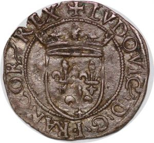 S7838 Rare ! Italy Louis XII soldino Milan Argent Silver ->Faire Offre