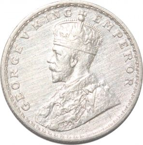 S8538 Inde 1 Rupee India 1913 George V Argent Silver -> Faire Offre