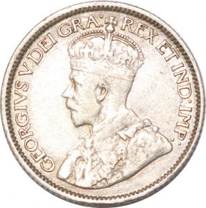 S8919 Canada 10 Cents George V 1913 Argent Silver ->Make offer