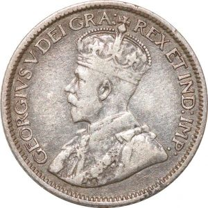 S8928 Canada 10 Cents George V 1913 Argent Silver ->Make offer