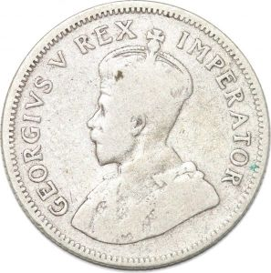 S8983 South Africa Shilling George V 1934 Argent Silver ->make offer