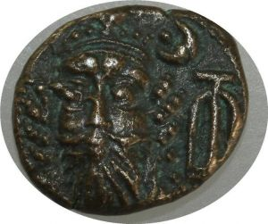 T9249 Kings of Elymais Kamnaskires-Orodes Early-mid 2nd century AD Drachm ->MO