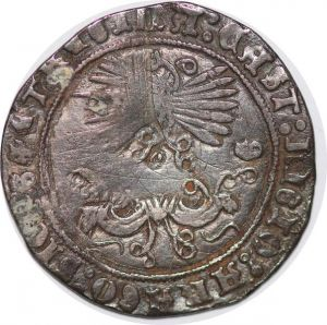 T9765 Spain Fernando V and Isabel I 1474-1504 Real Grenada G Silver