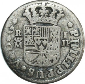 O8006 Spain Real Philip V 1732 M JF Madrid Silver