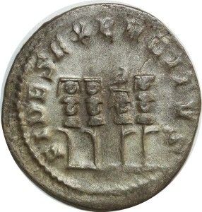O6106 Rare Philippe 1er Antoninien 249 Rome FIDES EXERCITVS ->Make offer