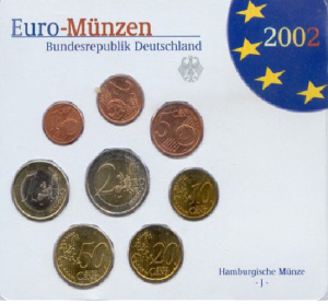 EURO COINS Germany 2002