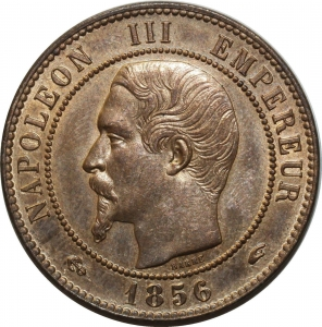 O9980 Bulgaria 10 Stotinki Aleksandr I 1881 Heaton -> Make