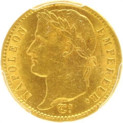 A45 20 Francs Or Gold Napoléon I 1812 A Paris PCGS MS62 SPL