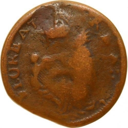 L7880 Very RARE USA New Jersey Farthing St Patrick Mark Newby Farthing PCGS G